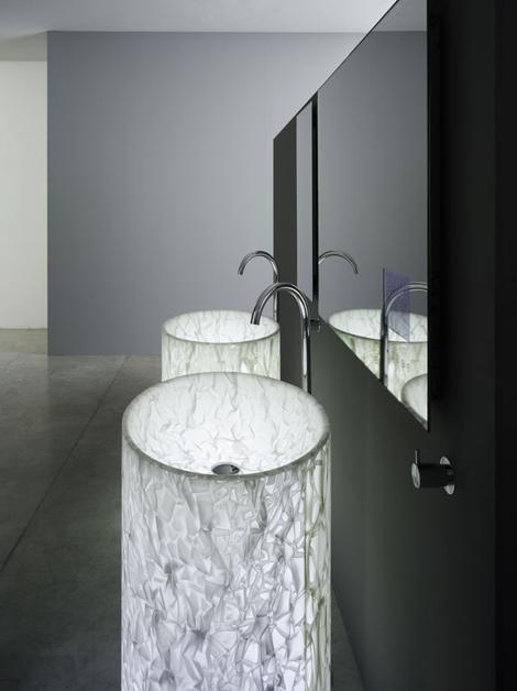 rapsel vision washbasin Modern Bathroom for the discerning   Rapsel Vision Washbasin and Arne Bathtub