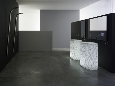 Rapsel Vision washbasins in pair