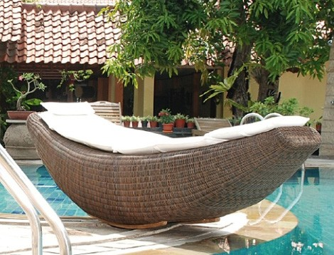 rattania rocking bed banana 1 Rattan Patio Furniture   new rattan furniture sets by Rattania