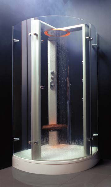 ravak shower enclosures whitewater Luxury Shower from Ravak   Whitewater steam shower