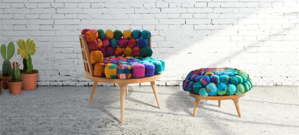 View In Gallery Recycled Silk Furniture By Meb Rure 2 Thumb 630x285 18258  Recycled Silk Furniture By Meb Rure