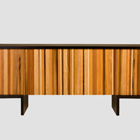 Recycled Wood Dresser by Marcenaria – Cercadinho