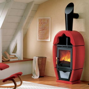 Red Stoves by Piazzetta
