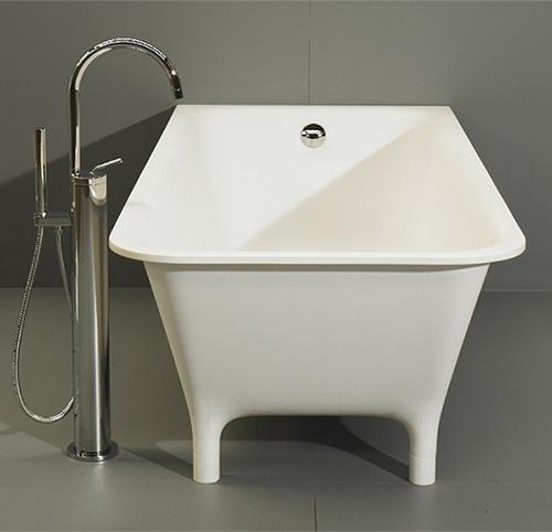 red freestanding bath morphing zucchetti kos 2 Red Freestanding Bath   Morphing by Zucchetti Kos