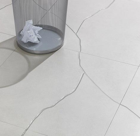 refin ceramic tiles terraviva Contemporary Cracked Tiles by Refin   Terraviva