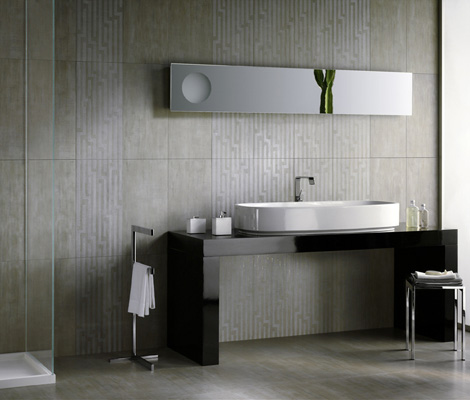 refin thin porcelain tile 3 Thin Porcelain Tile   new Skin tiles by Refin