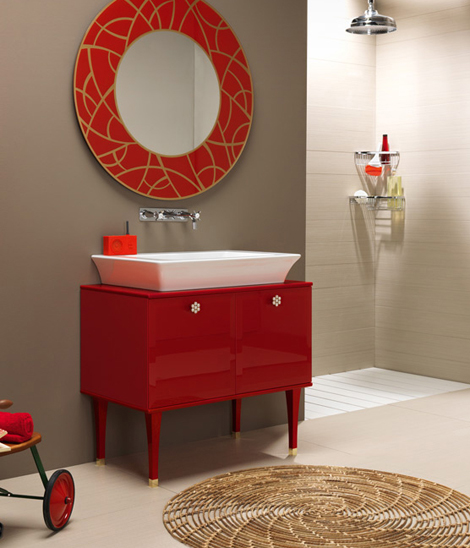 regia bathroom collection vintage 2 Vintage Bathroom Suites by Regia