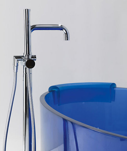 Glass Bathtub glass bathtub jolie from regia - colorful and clearly refreshing!
