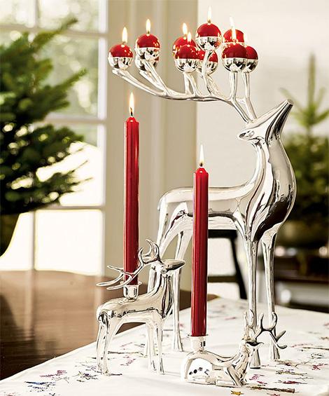 reindeer candleholders