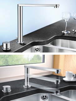 Retractable Kitchen Faucet by Blanco