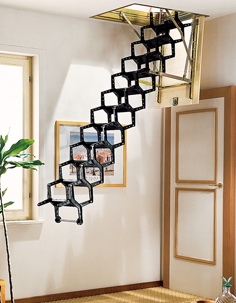retractable stairway rintal