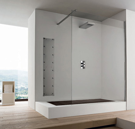 rexadesign bath shower 3 Bathroom Ideas: Convertible Shower by Rexa