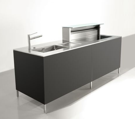 rieber unic cubic kitchen island Compact Kitchen Unit Cubic by Rieber   contemporary kitchen island