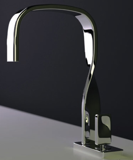 Ritmonio Italian Faucet Nastro 1 Ribbon Bathroom By New