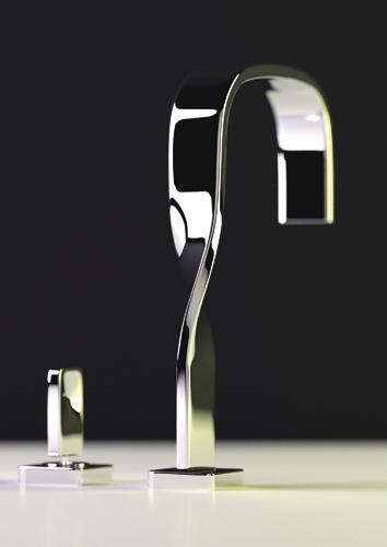 ritmonio italian faucet nastro 2 Ribbon Bathroom Faucet by Ritmonio   new Nastro