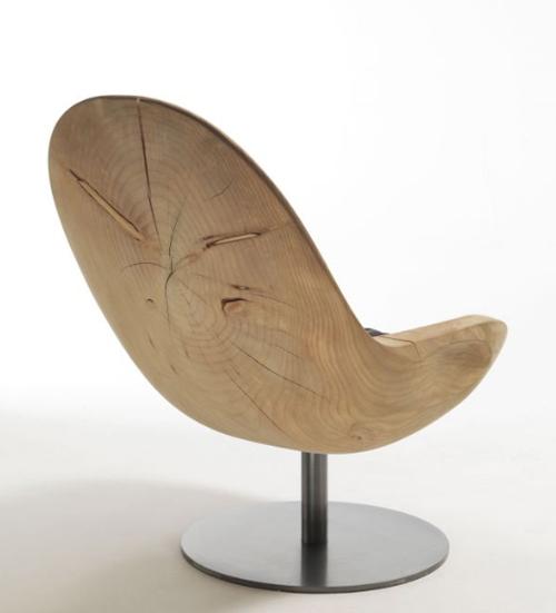 riva armchair creus 2 Wooden Armchair Creus by Riva