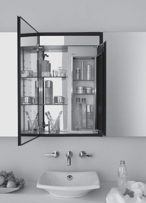 Robern Mirrored Cabinet With Cold Storage
