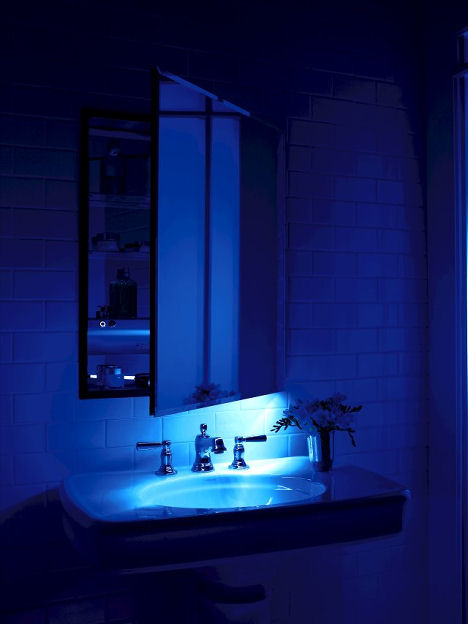 bathroom cabinets with led lights robern m series mirrored cabinet with an integrated led 22007
