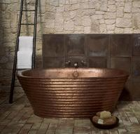 Robert Kuo Wavelet Copper Bath – modern mixed with ancient