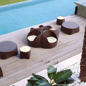 Modern Outdoor Rattan Furniture from Roberti – Art for your Patio!