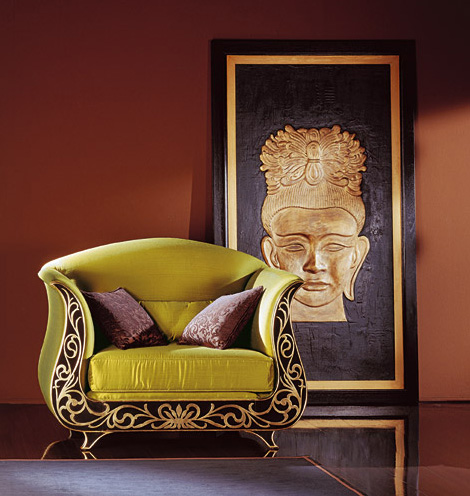 roberto ventura italian luxury furniture chair green Italian Luxury Furniture   designer furniture by Roberto Ventura