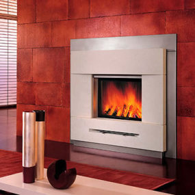 Design Fireplace from Robeys – Piazzetta Tokyo contemporary fire surround
