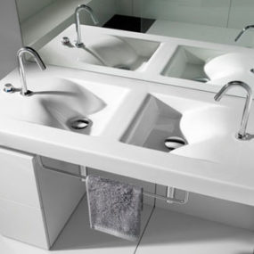 Small Bathroom Suites – new Barcelona suite by Roca