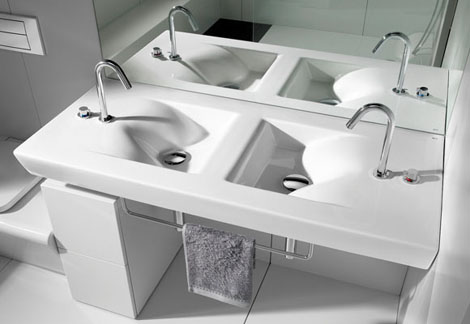 roca bathroom collection barcelona 1 Small Bathroom Suites – new Barcelona suite by Roca