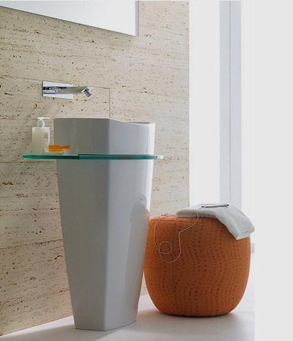 roca clean contemporary bathroom design tiber 2 Clean Contemporary Bathroom Design   new Tiber collection by Roca