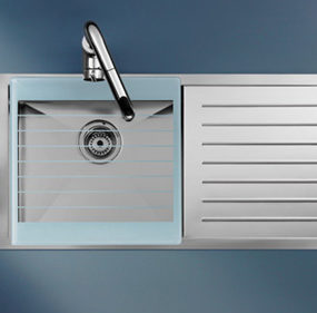 Stainless Steel Kitchen Sink by Roca – new X-Tra sink