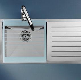 Stainless Steel Kitchen Sink by Roca – new X-Tra sink