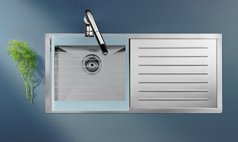 Stainless Steel Kitchen Sink By Roca - New X-Tra Sink