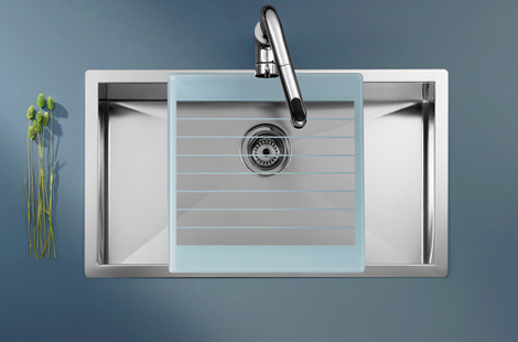 roca kitchen sink x tra 2 Stainless Steel Kitchen Sink by Roca   new X Tra sink