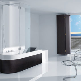 Shower Tub Combination from Roca – Happening Combination
