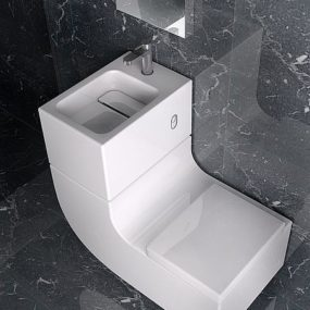 Washbasin Watercloset Combination by Roca – W+W