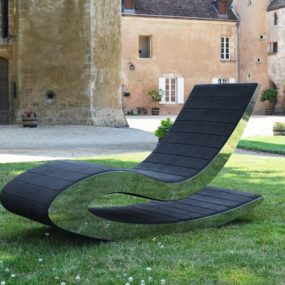 Rocking Lounge Chair by Different and Different