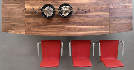 rodamdiningtable Pure Wood Dining Table by Rodam   extendable design in gorgeous natural wood