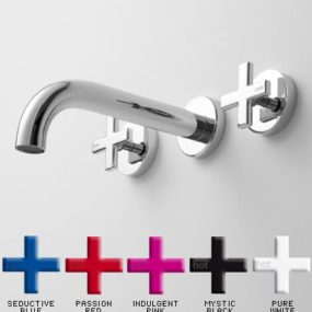 """Gas"" bathroom faucet from Rogerseller – the pop-art tapware design"