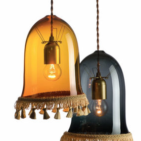 Decorative Lighting Ideas by Rothschild and Bickers – traditional free blown glass lighting with a contemporary twist…