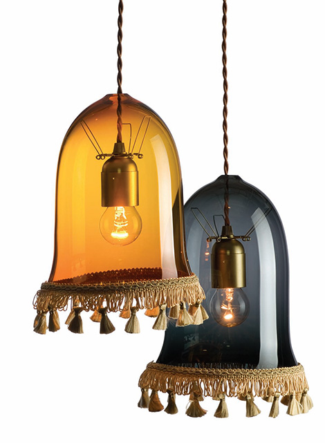 rothschild bickers decorative lighting ideas tassel lights Decorative Lighting Ideas by Rothschild and Bickers   traditional free blown glass lighting with a contemporary twist…