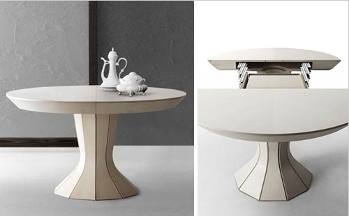 Nice Round Expandable Dining Table U2013 Modern Opera By Bauline