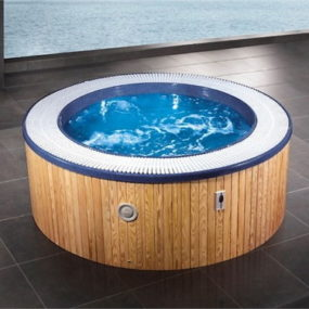 duravit blue moon whirlpool tub the new round tub. Black Bedroom Furniture Sets. Home Design Ideas