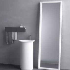 Round Wash Basin – In-Out washbasin stands by Agape