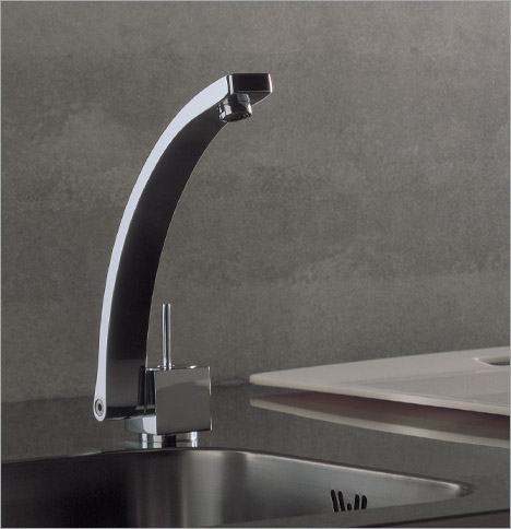 rubinetterie roxy faucet rosson conedera2 Roxy kitchen faucet by Rosson & Conedera for Carlo Nobili spa Rubinetterie