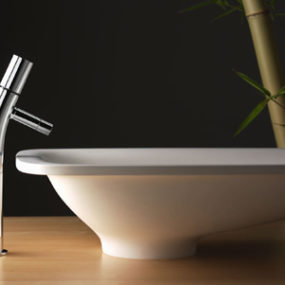 New contemporary bathroom faucet collection from Rubinetterie Stella – the Bamboo Series