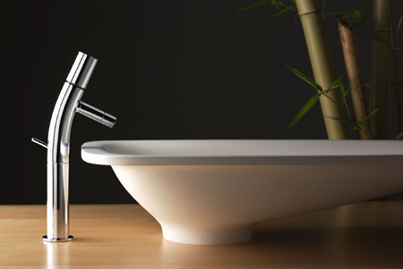 Rubinetterie Stella Bamboo Faucet 1 New Contemporary Bathroom Faucet  Collection From Rubinetterie Stella The Bamboo Series
