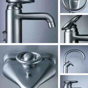 Foster faucet line from Rubinetterie Stella – industrial classicism