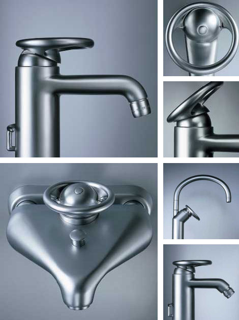 rubinetterie stella foster faucets Foster faucet line from Rubinetterie Stella   industrial classicism