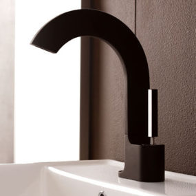 Bathroom Faucet from Rubinetterie Treemme – the new Cut Bathroom faucet