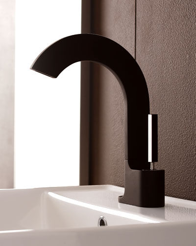 rubinetterie treemme cut lavatory faucet Bathroom Faucet from Rubinetterie Treemme   the new Cut Bathroom faucet